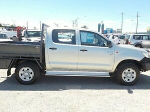 2013 Toyota Hilux Silver Manual Cab Chassis Pakenham Cardinia Area Preview