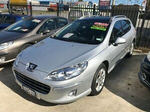 2011 Peugeot 407 Series II ST HDI Touring Silver 6 Speed Sports Automatic Wagon St James Victoria Park Area Preview