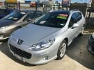 2011 Peugeot 407 Series II ST HDI Touring Silver 6 Speed Sports Automatic Wagon