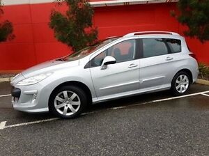 2009 Peugeot 308 T7 XSE Turbo Touring Silver 4 Speed Sports Automatic Wagon Cannington Canning Area Preview