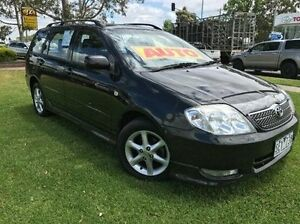 2003 Toyota Corolla ZZE122R Levin Black 4 Speed Automatic Wagon Ferntree Gully Knox Area Preview