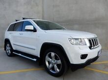 2012 Jeep Grand Cherokee WK MY2013 Limited White 5 Speed Sports Automatic Wagon Braeside Kingston Area Preview