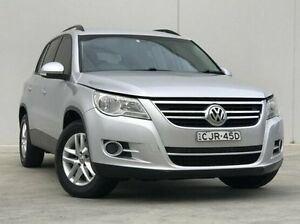 2009 Volkswagen Tiguan 5N MY10 103TDI 4MOTION Silver 6 Speed Manual Wagon Kings Park Blacktown Area Preview