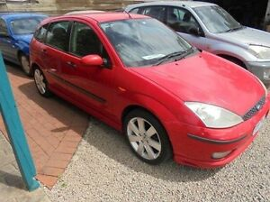 2003 Ford Focus Red Automatic Hatchback Hastings Mornington Peninsula Preview