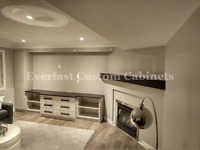 Built In TV Unit & Fireplace Cabinets