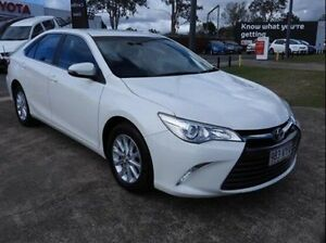 2015 Toyota Camry ASV50R Altise White 6 Speed Sports Automatic Sedan Morningside Brisbane South East Preview