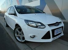 2011 Ford Focus LW Titanium PwrShift White 6 Speed Sports Automatic Dual Clutch Hatchback Bunbury Bunbury Area Preview