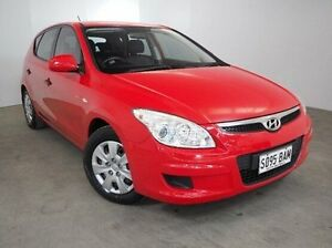 2009 Hyundai i30 FD MY09 SX Red 4 Speed Automatic Hatchback Mount Gambier Grant Area Preview