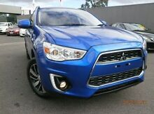 2015 Mitsubishi ASX XB MY15 LS 2WD Blue 6 Speed Constant Variable Wagon Heidelberg Heights Banyule Area Preview