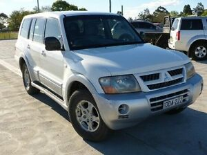 2004 Mitsubishi Pajero NP MY04 GLS White 5 Speed Sports Automatic Wagon Singleton Singleton Area Preview