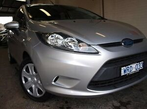 2009 Ford Fiesta WS LX Silver 4 Speed Automatic Hatchback Highett Bayside Area Preview