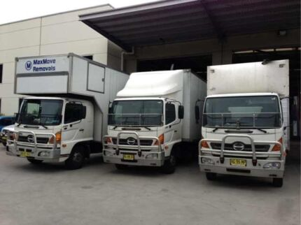 *MaxMove Removals**10t Truck with Lift FREE Mattress Covers Sydney Region Preview