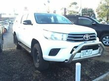 2015 Toyota Hilux GUN126R SR Double Cab Glacier White 6 Speed Sports Automatic Utility Upper Ferntree Gully Knox Area Preview