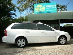 2007 Holden Viva JF MY07 White 4 Speed Automatic Wagon