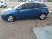 2013 Kia Cerato TD MY13 S Blue 6 Speed Sports Automatic Hatchback Mysterton Townsville City Preview