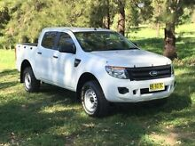 2012 Ford Ranger PX XL Double Cab White 6 Speed Sports Automatic Utility Dubbo Dubbo Area Preview