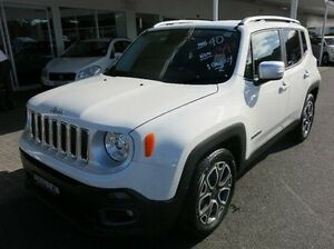 2016 Jeep Renegade BU MY16 Limited DDCT White 6 Speed Sports Automatic Dual Clutch Hatchback Coffs Harbour Coffs Harbour City Preview