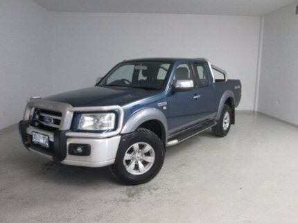 2007 Ford Ranger PJ XLT Super Cab Blue 5 Speed Automatic Utility Mount Gambier Grant Area Preview