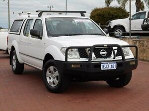 2010 Nissan Navara D40 RX White 6 Speed Manual Utility Spearwood Cockburn Area Preview