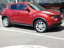 2014 Nissan Juke F15 MY14 ST 2WD Red 1 Speed Constant Variable Hatchback Fawkner Moreland Area Preview