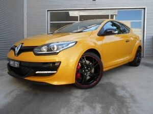 2015 Renault Megane III D95 Phase 2 R.S. 265 Cup Premium Yellow 6 Speed Manual Coupe Berwick Casey Area Preview