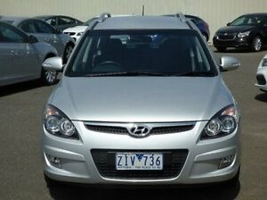 2012 Hyundai i30 FD MY11 SX cw Wagon Silver 4 Speed Automatic Wagon Diggers Rest Melton Area Preview