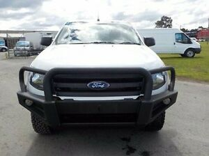 2014 Ford Ranger White Manual Cab Chassis Pakenham Cardinia Area Preview
