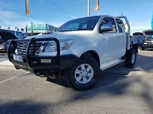 2013 Toyota Hilux KUN26R MY12 SR5 Xtra Cab White 5 Speed Manual Utility Dandenong Greater Dandenong Preview