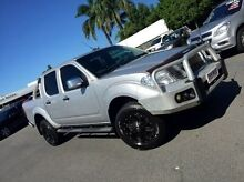 2012 Nissan Navara D40 S5 MY12 ST-X Silver 7 Speed Sports Automatic Utility West Mackay Mackay City Preview