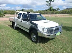 2009 Isuzu D-MAX MY09 SX White 5 Speed Manual Cab Chassis Townsville Townsville City Preview
