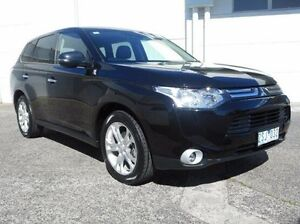 2013 Mitsubishi Outlander ZJ MY13 Aspire 4WD Black 6 Speed Sports Automatic Wagon Bundoora Banyule Area Preview