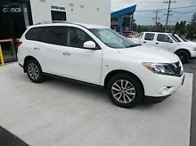 2015 Nissan Pathfinder  White Constant Variable Wagon Burwood Whitehorse Area Preview