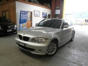 2007 BMW 118i E87 MY07 Silver 6 Speed Manual Hatchback Heidelberg Heights Banyule Area Preview