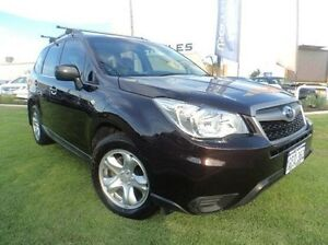 2013 Subaru Forester S4 MY13 2.5i Lineartronic AWD Red 6 Speed Constant Variable Wagon Mandurah Mandurah Area Preview