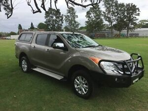 2012 Mazda BT-50 UP0YF1 XTR Gold 6 Speed Manual Utility East Kempsey Kempsey Area Preview