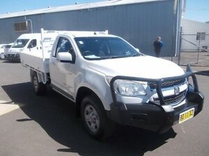 2012 Holden Colorado RG MY13 LX White 5 Speed Manual Cab Chassis Dubbo Dubbo Area Preview