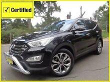 2014 Hyundai Santa Fe DM MY14 Highlander Black 6 Speed Sports Automatic Wagon St Marys Mitcham Area Preview