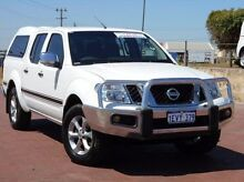 2011 Nissan Navara D40 S6 MY12 ST White 6 Speed Manual Utility Spearwood Cockburn Area Preview