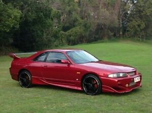 1995 Nissan Skyline ECR33 GTS-T Maroon 5 Speed Manual Sedan Albion Brisbane North East Preview