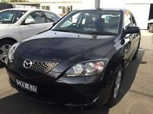 2004 Mazda 3 BK10F1 Neo Black 4 Speed Sports Automatic Hatchback Maidstone Maribyrnong Area Preview
