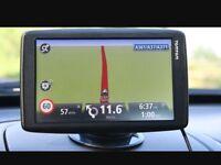Tomtom sat nav navigation gps