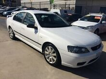2006 Ford Falcon BF SR White 4 Speed Sports Automatic Sedan Fyshwick South Canberra Preview
