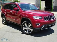 2015 Jeep Grand Cherokee WK MY15 Limited Red 8 Speed Sports Automatic Wagon Mount Gravatt Brisbane South East Preview