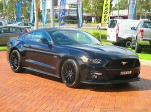 2016 Ford Mustang FM MY17 GT SelectShift Black 6 Speed Sports Automatic Fastback Baulkham Hills The Hills District Preview
