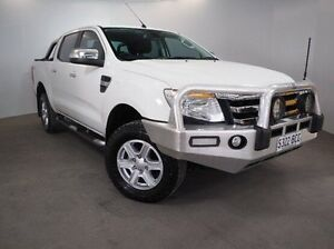 2014 Ford Ranger PX XLT Double Cab White 6 Speed Sports Automatic Utility Mount Gambier Grant Area Preview