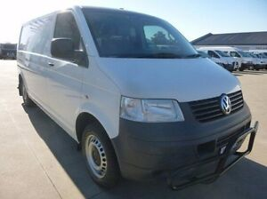 2009 Volkswagen Transporter T5 MY09 Low Roof White 6 Speed Manual Van Coburg North Moreland Area Preview