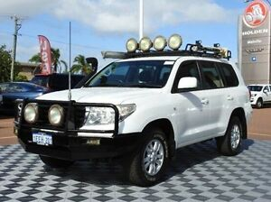2008 Toyota Landcruiser UZJ200R GXL White 5 Speed Sports Automatic Wagon Alfred Cove Melville Area Preview