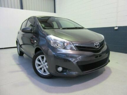 2013 Toyota Yaris NCP131R YRX Graphite 4 Speed Automatic Hatchback Nailsworth Prospect Area Preview