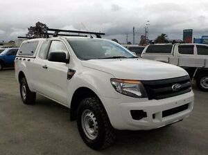 2014 Ford Ranger White Manual Utility Pakenham Cardinia Area Preview