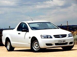 2009 Holden Ute VE MY09.5 Omega White 4 Speed Automatic Utility Christies Beach Morphett Vale Area Preview